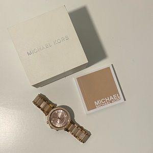 Michael Kors Pink Rose Gold Watch